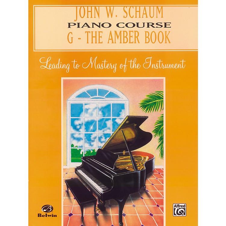 AlfredJohn W. Schaum Piano Course G The Amber Book