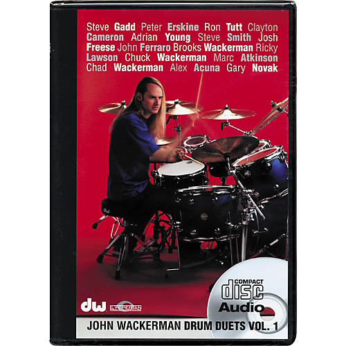 The Drum Channel John Wackerman: Drum Duets Vol 1(Audio CD)