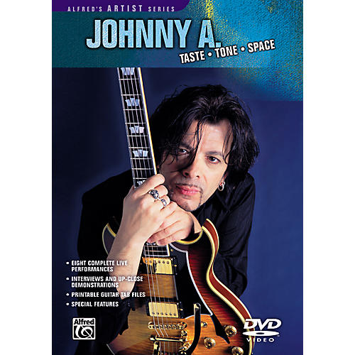 Alfred Johnny A - Taste Tone Space DVD