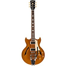 Johnny A Standard with Bigsby Hollowbody Electric Guitar Antique Gold