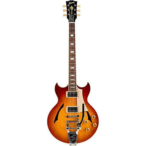 Gibson Custom Johnny A Standard with Bigsby Hollowbody Electric Guitar-thumbnail