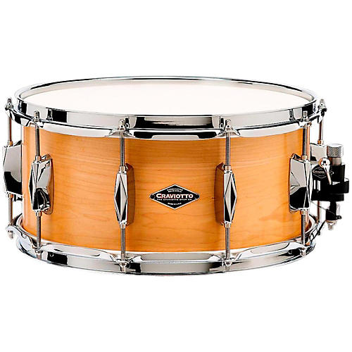Craviotto Johnny C Solid Maple Snare Drum-thumbnail