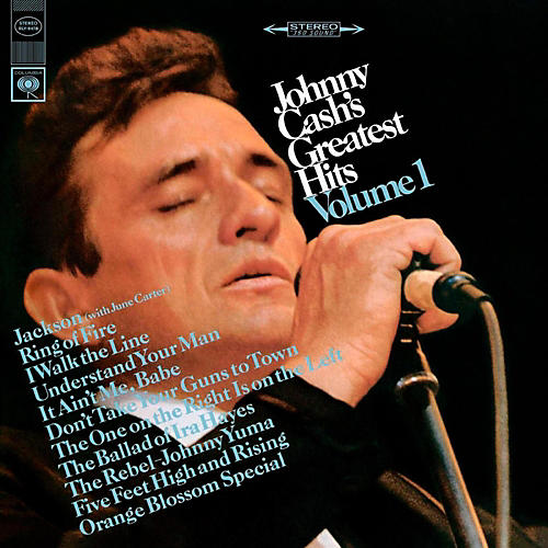RED Johnny Cash - Johnny Cash's Greatest Hits LP-thumbnail