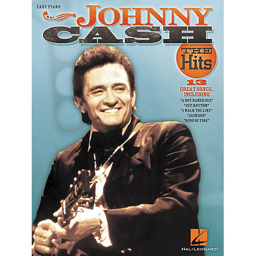 Hal Leonard Johnny Cash - The Hits For Easy Piano