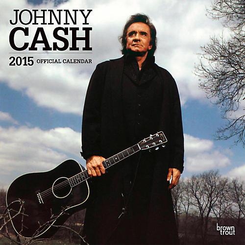 Browntrout Publishing Johnny Cash 2015 Calendar Square 12x12