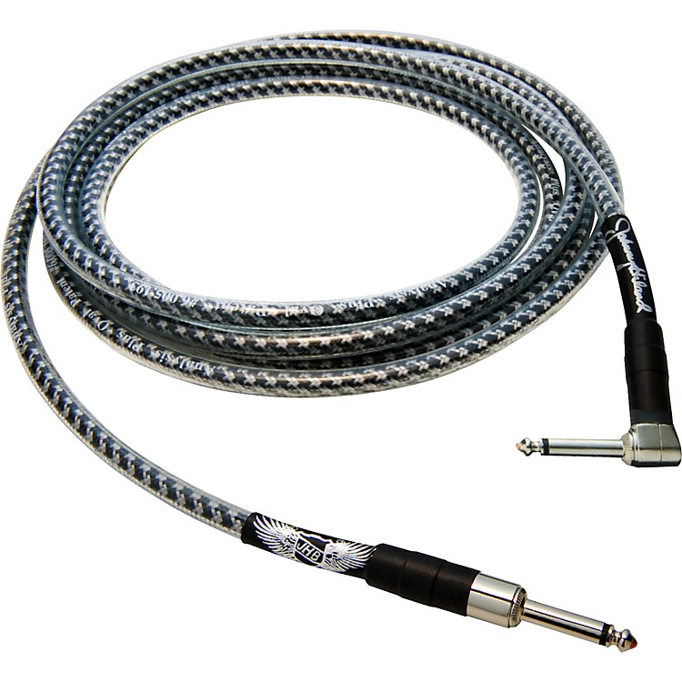 Analysis Plus Johnny Hiland Signature Instrument Cable - Straight to Angled