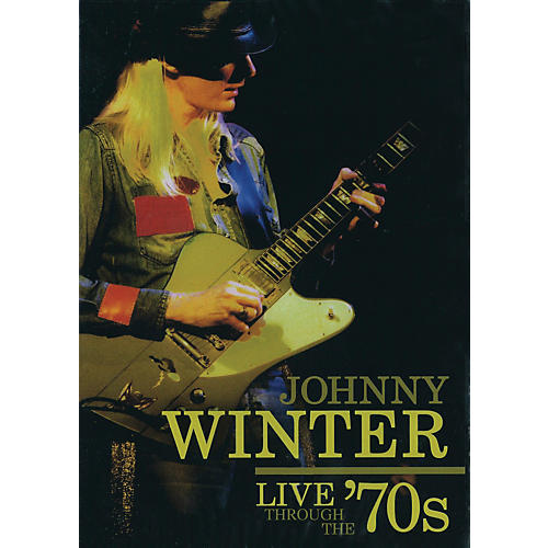 Hal Leonard Johnny Winter - Live Through the '70s (DVD)