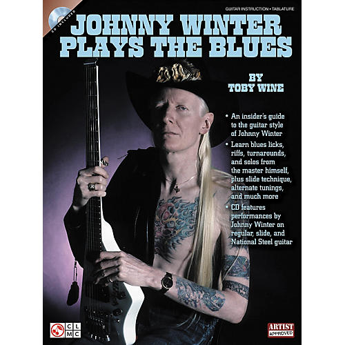 Cherry Lane Johnny Winter Plays The Blues (Book/CD)