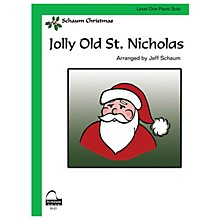 SCHAUM Jolly Old St. Nicholas Educational Piano Series Softcover