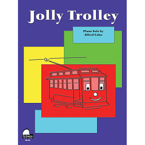 SCHAUM Jolly Trolley Educational Piano Series Softcover