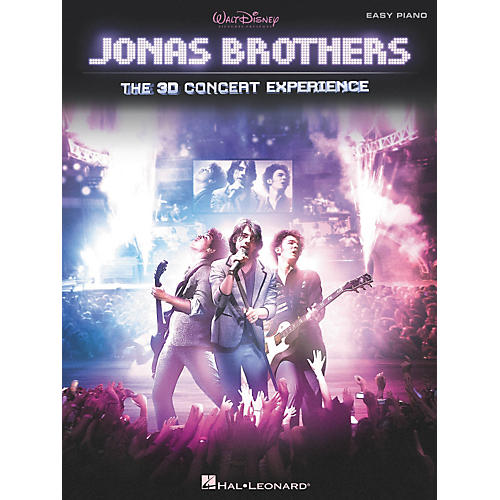 Hal Leonard Jonas Brothers: The 3D Concert Experience For Easy Piano