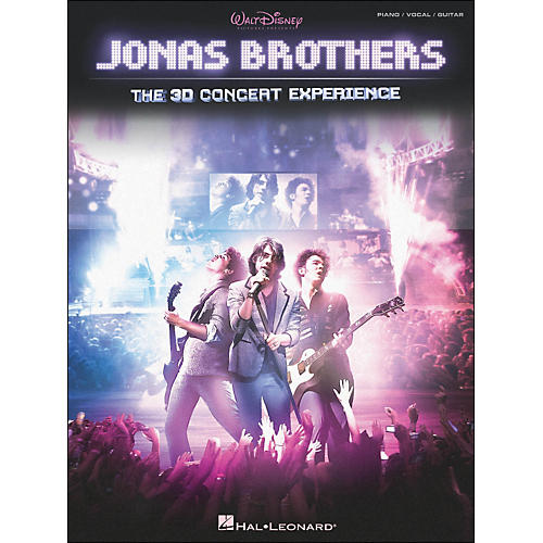 Hal Leonard Jonas Brothers: The 3D Concert Experience arranged for piano, vocal, and guitar (P/V/G)-thumbnail