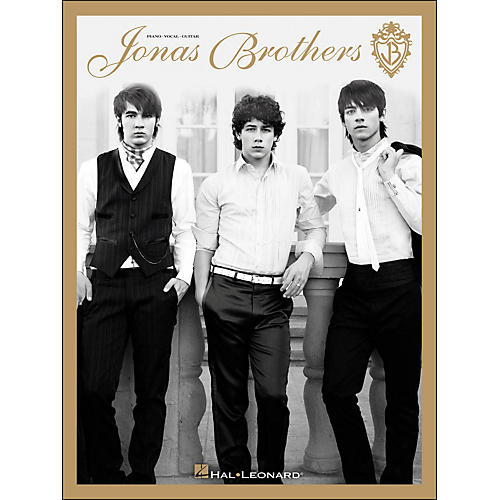 Hal Leonard Jonas Brothers arranged for piano, vocal, and guitar (P/V/G)