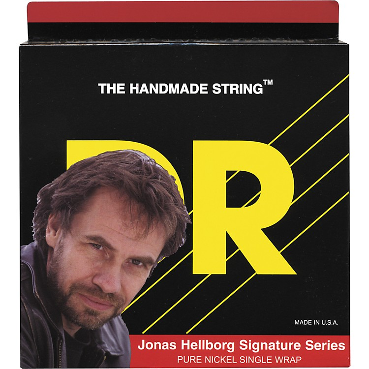 DR Strings Jonas Hellbord Signature 4 String Bass (40-100)