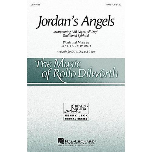 Hal Leonard Jordan's Angels SATB composed by Rollo Dilworth-thumbnail