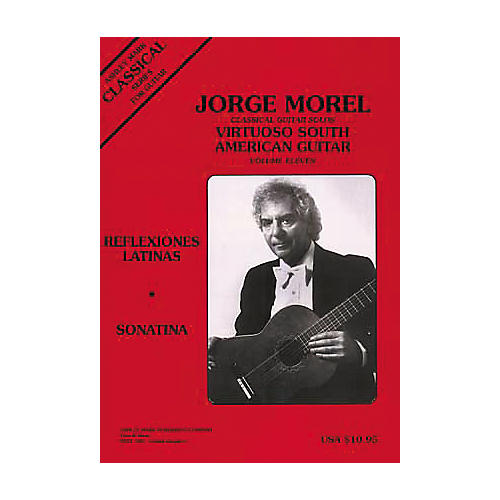 Ashley Mark Jorege Morel Classical Guitar Solos Virtuoso South American Volume 11