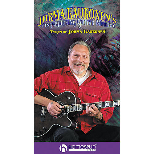 Homespun Jorma Kaukonen's Fingerpicking Guitar Method 2-Video Set (VHS)