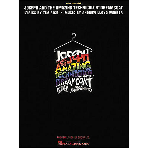 Hal Leonard Joseph And The Amazing Technicolor Dreamcoat Revised arranged for piano, vocal, and guitar (P/V/G)-thumbnail