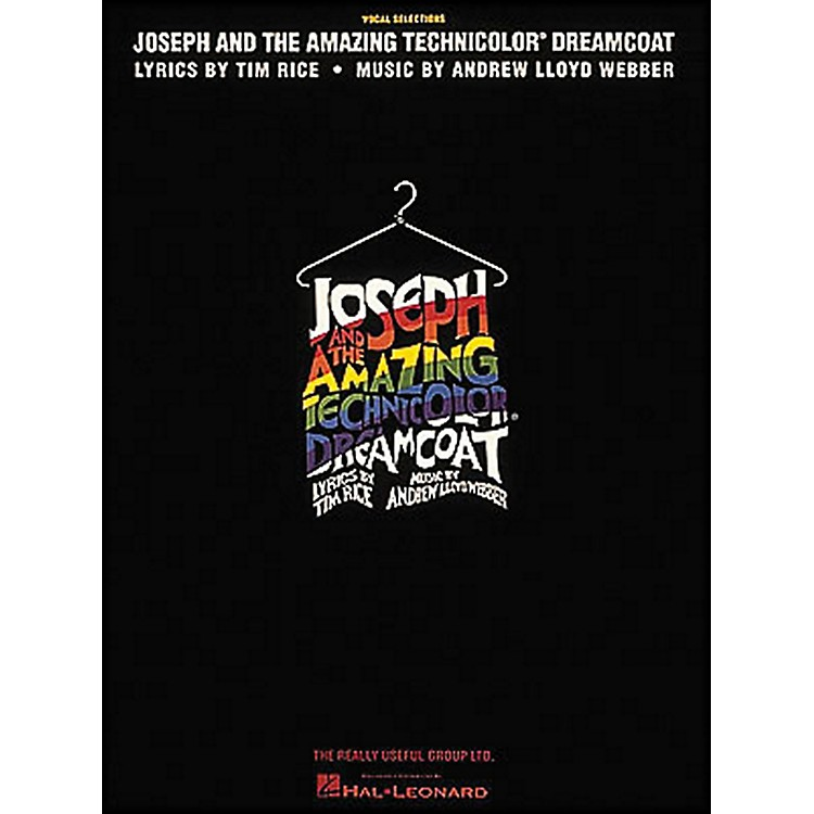 Hal Leonard Joseph And The Amazing Technicolor Dreamcoat Revised arranged for piano, vocal, and guitar (P/V/G)