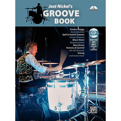 Alfred Jost Nickel's Groove Book - Book & CD-thumbnail