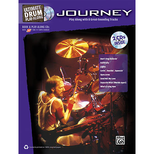 Alfred Journey - Ultimate Drum Play-Along Book & 2 CDs