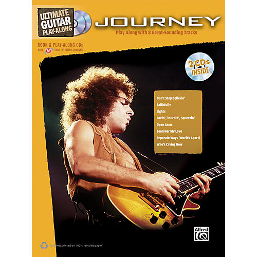 Alfred Journey - Ultimate Guitar Play-Along Book & 2 CDs-thumbnail