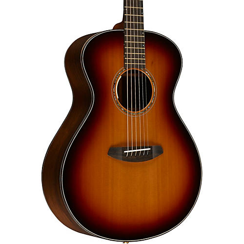 Breedlove Journey Concert Black Cherry FS E Western Red Cedar - Brazilian Rosewood Acoustic-Electric Guitar-thumbnail