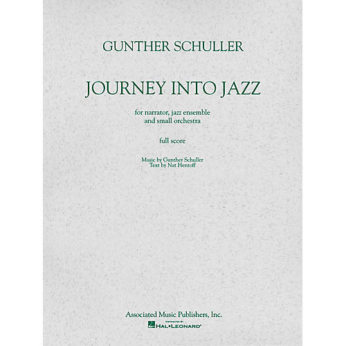 Associated Journey Into Jazz (Full Score) Study Score Series Composed by Gunther Schuller-thumbnail