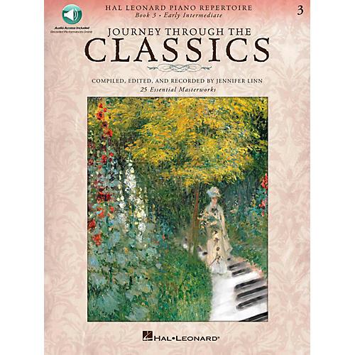 Hal Leonard Journey Through The Classics - Book 3 Early Intermediate Book/Online Audio