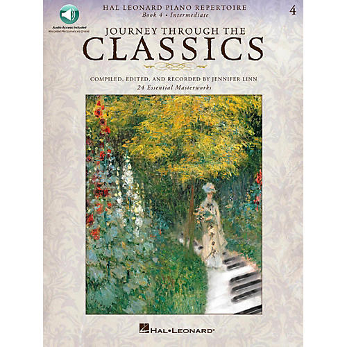 Hal Leonard Journey Through The Classics - Book 4 Intermediate Book/Online Audio-thumbnail