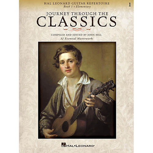 Hal Leonard Journey Through the Classics: Book 1 (Hal Leonard Guitar Repertoire) Guitar Solo Series Softcover