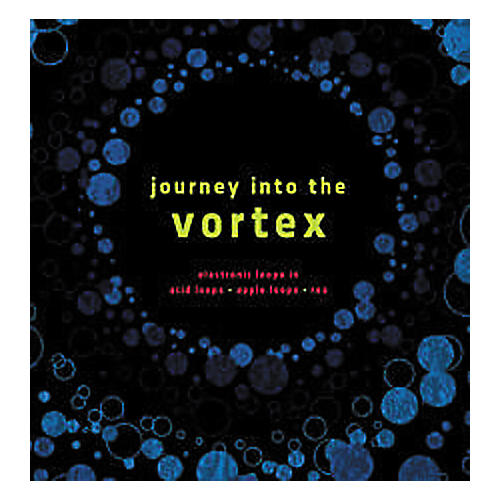 Q Up Arts Journey into the Vortex Apple Logic EXS24 Loop Collection CD-ROM
