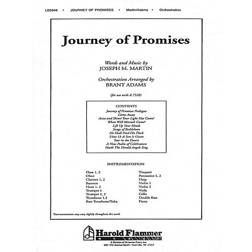 Shawnee Press Journey of Promises (Orchestration/Conductor's Score) Score & Parts composed by Joseph M. Martin