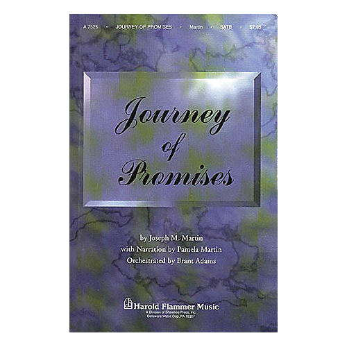 Shawnee Press Journey of Promises (StudioTrax CD) Accompaniment CD Composed by Joseph M. Martin