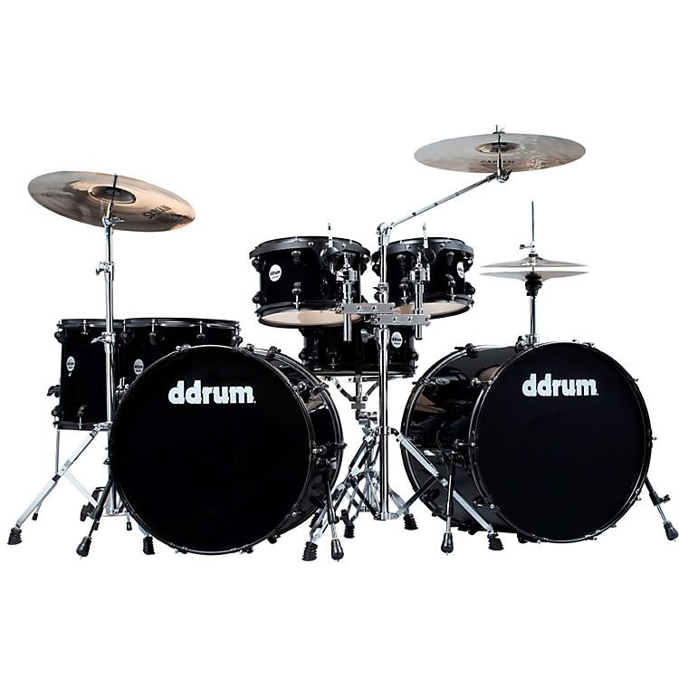 ddrumJourneyman Double Down 7-Piece Drum KitMid Black