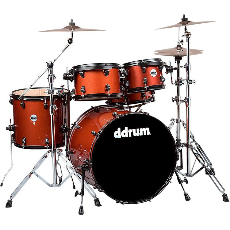 ddrum Journeyman Player 5-Piece Drum Kit Ice Mocha