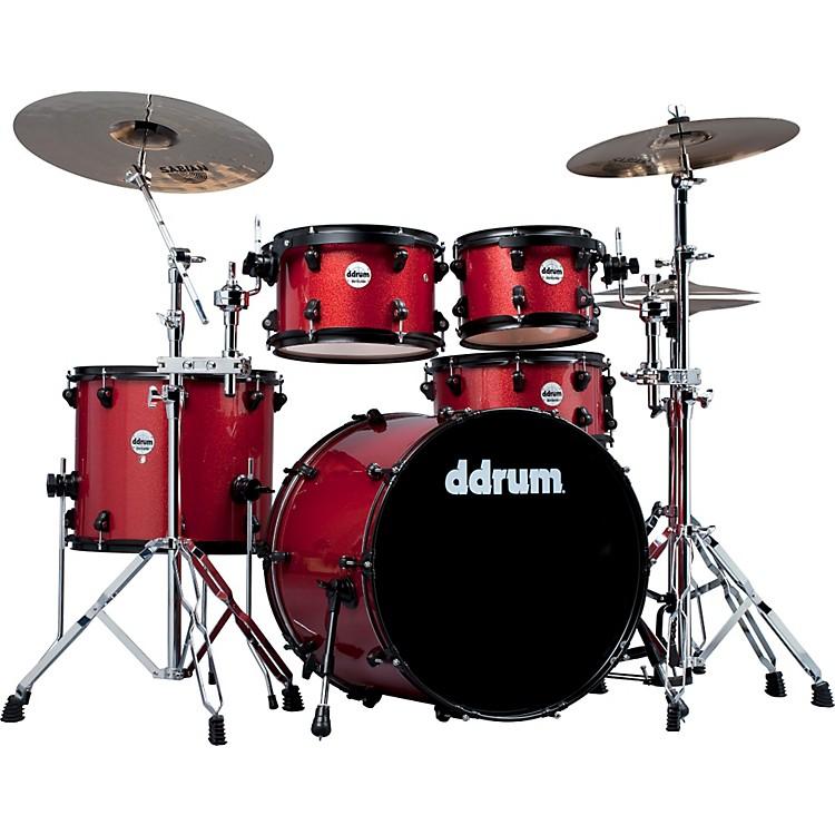 ddrumJourneyman Player 5-Piece Drum KitRed Sparkle