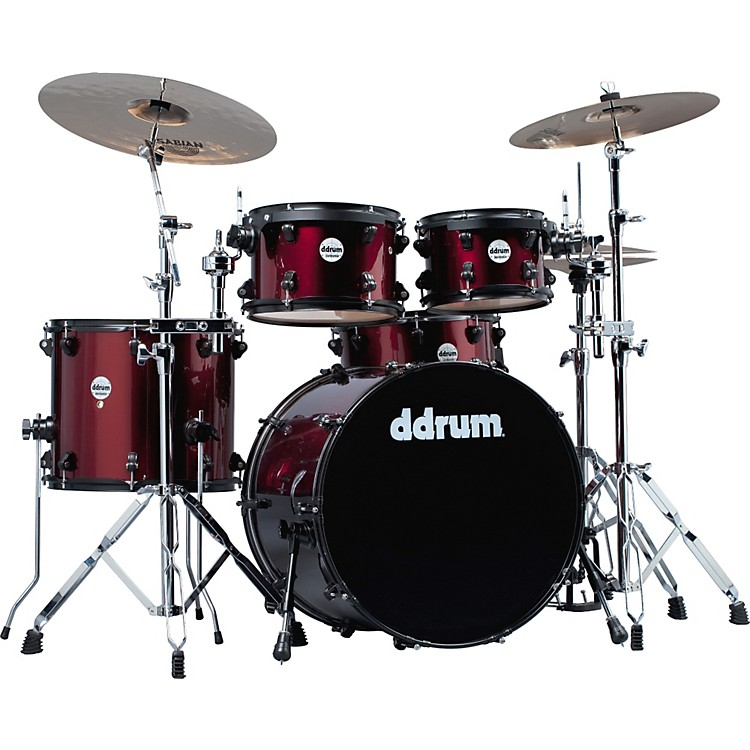 ddrum Journeyman Player 5-Piece Drum Kit Wine Red