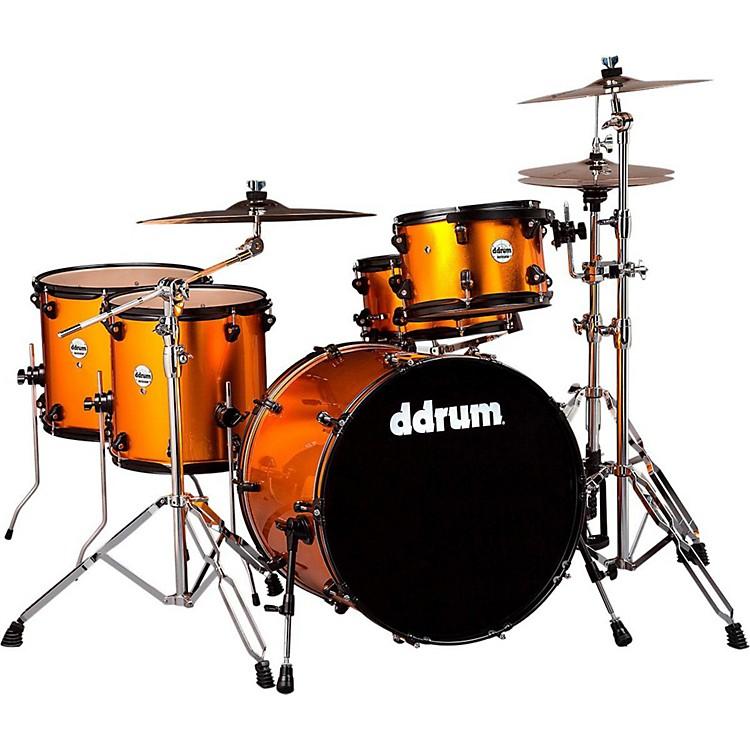 ddrumJourneyman Rambler 5-Piece Drum KitBlaze Orange