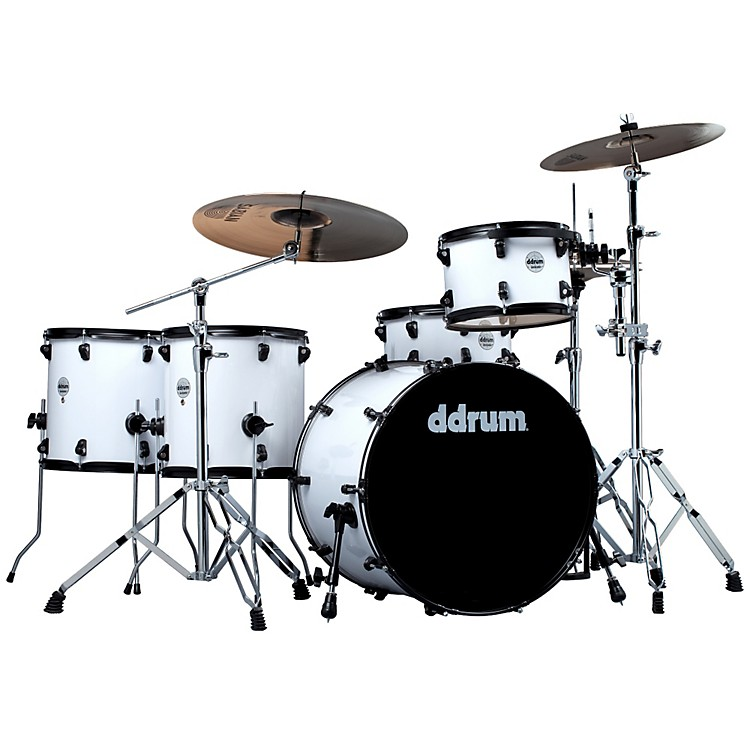 ddrum Journeyman Rambler 5-Piece Drum Kit White