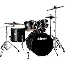Ddrum Journeyman2 Series Player 5-piece Drum Kit with 22 in. Bass Drum Black Sparkle