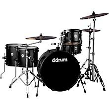 Ddrum Journeyman2 Series Rambler 5-piece Drum Kit with 24 in. Bass Drum Black Sparkle