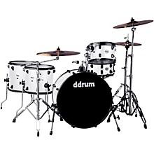 Ddrum Journeyman2 Series Rambler 5-piece Drum Kit with 24 in. Bass Drum White