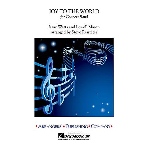 Arrangers Joy to the World Concert Band Level 3 Arranged by Steve Reisteter-thumbnail