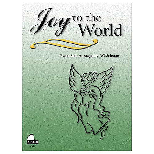 SCHAUM Joy to the World Educational Piano Series Softcover