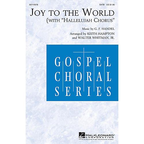 Hal Leonard Joy to the World (with Hallelujah Chorus) SATB arranged by Keith Hampton-thumbnail