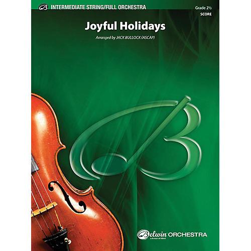 Alfred Joyful Holidays Full Orchestra Grade 2.5-thumbnail