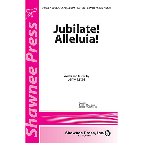 Shawnee Press Jubilate! Alleluia! 3-Part Mixed composed by Jerry Estes-thumbnail