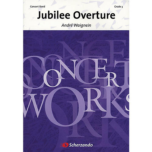 De Haske Music Jubilee Overture Concert Band Level 3 Composed by André Waignein-thumbnail