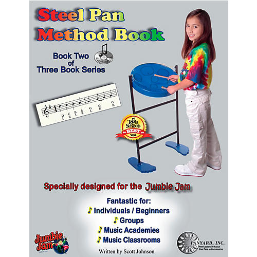 Panyard Jumbie Jam Steel Pan Method Book 2